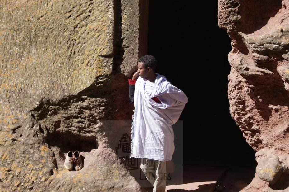 Man in Ethiopië